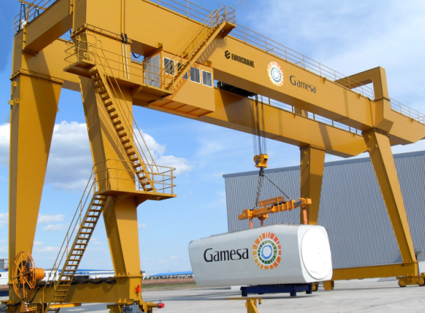 Big gantry crane 150 ton