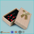 Handmade Earrings Paper Gift Boxes WithRibbon Cute