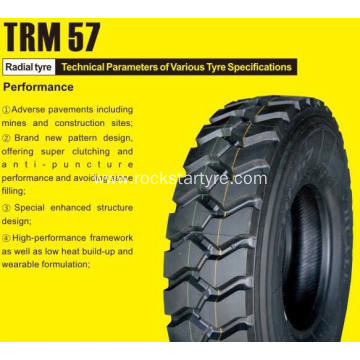 12.00R20 radial tire for howo trucks