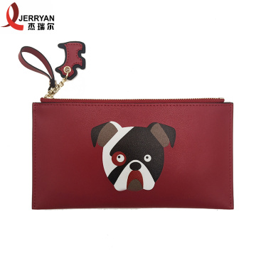 Hot Selling Soft Leather Zip Card Holder Online