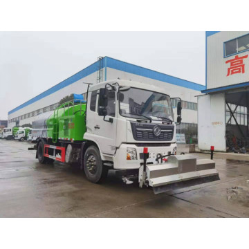 High pressure jet high pressure road cleaning truck