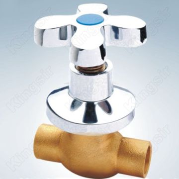 Brass Shower Valve Tare da Farin zinc