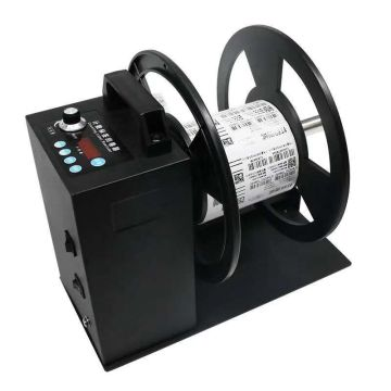Desktop two-way 150mm Electric automatic label rewinder