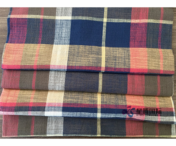 100% Cotton Yarn Dyed Fabric For Garment