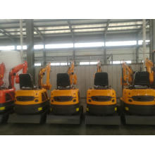 Mini excavator with CE Mini bagger for sale