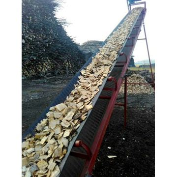 Composite scrap timber wood chipper