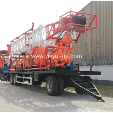 SPT-1500 Trailer-mounted water well machine