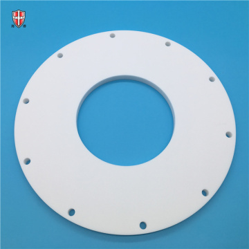 isolated wear resistant macor mica ceramic flange plate
