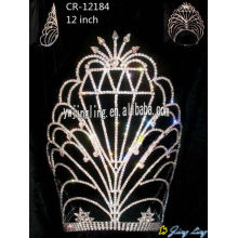 Big size Pageant Crown Diamond Shape