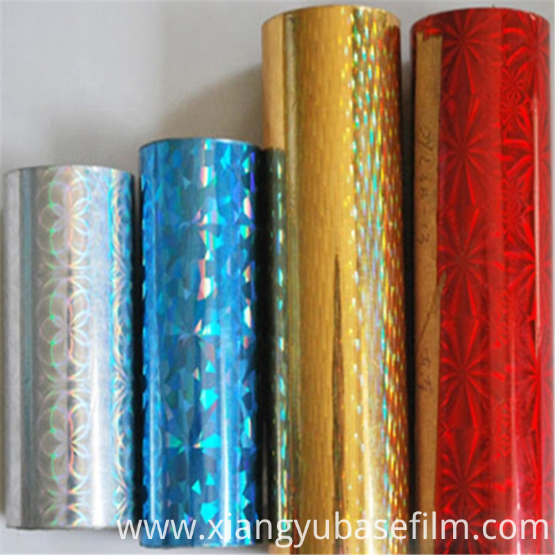 Hot Stamping Foil Pet Base Film