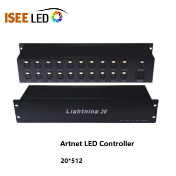 20 ways Artnet Led DMX Controller