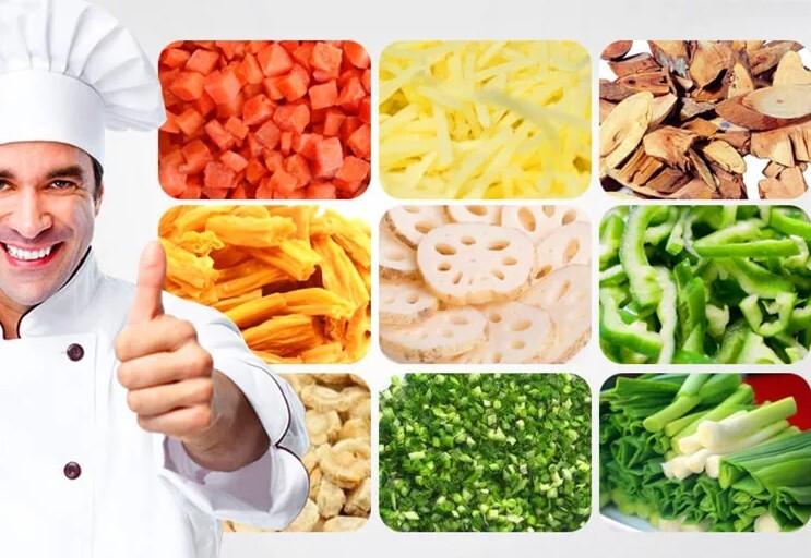 150-300kg/h Electric Fresh Potato Washer Peeler Machines Potato Strips Cutting Chips Stick Cutter Slicer Machine