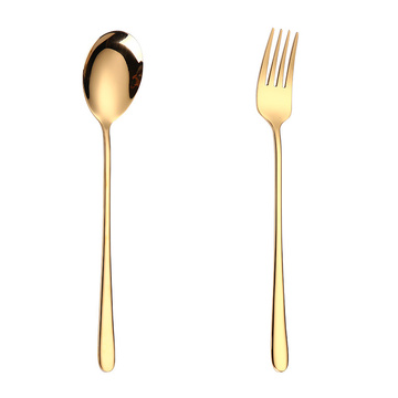 High Quality Korean Titanium Cutlery Spoon Fork