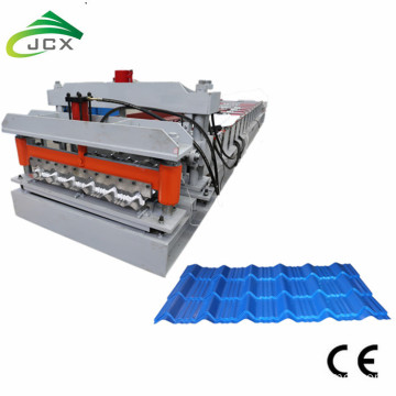 Galvanized roof glazed tile making machine
