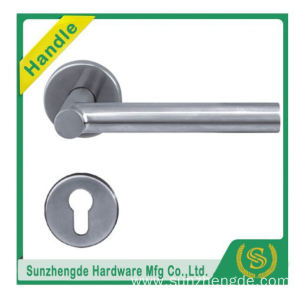 SZD STH-113 Best selling Stainless steel tubular door lever handle locksets
