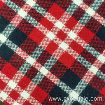 Woolen fashion Plaid design coats fabric
