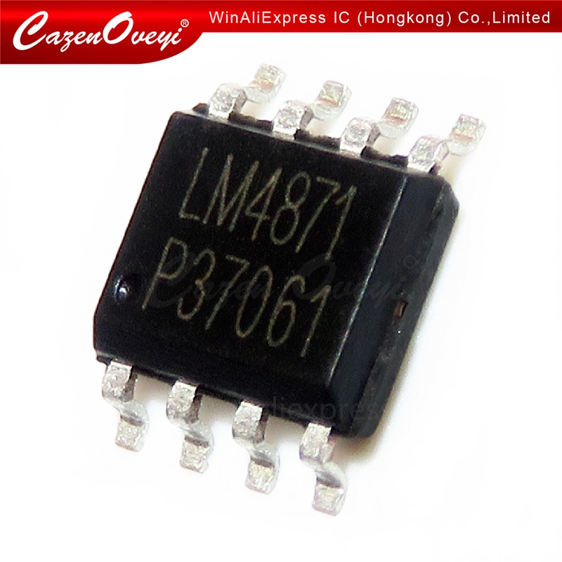 10pcs/lot LM4871 XPT4871 SOP-8 In Stock
