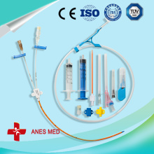 Double Lumen Antimicrobial Central Venous Catheter kit