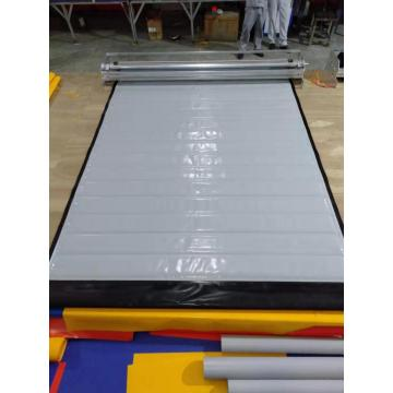 Fabric curtain high speed refrigeration cold storage door