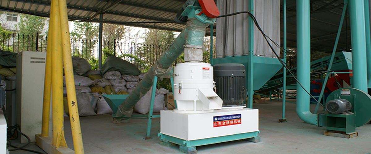flat die pellet machine