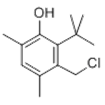 Phenol,3-(chloromethyl)-6-(1,1-dimethylethyl)-2,4-dimethyl- CAS 23500-79-0