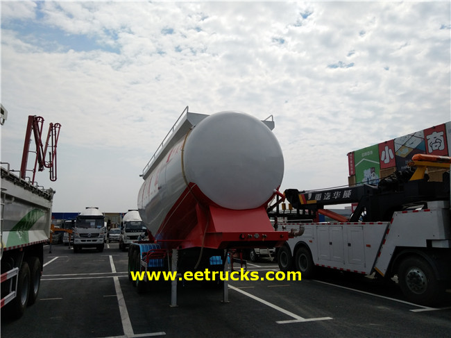 35T Powder Tanker Semi-trailers