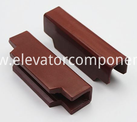 guide shoe insert Mitsubishi Elevator Cabin Guide Rail 10mm 16mm