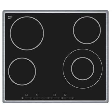 Bosch Electric Cooker Hobs Black Glass