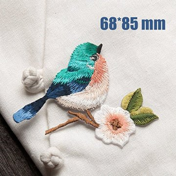 Birds Delicate Embroidery Patches Iron On Patches