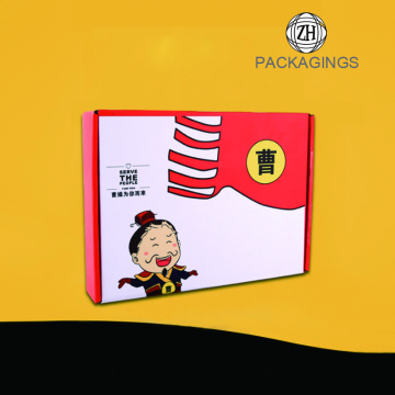 Custom paper shipping box wholesale