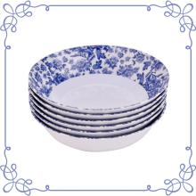 "8.5"" Melamine dinnerware Shallow Bowl set of 6"