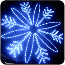 LED christmas ornament lights snowflake decoration