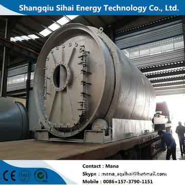 Waste Tire Oil Extraction Machine