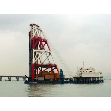 Deep Soft Soil Improvement Concrete Mixing Ship