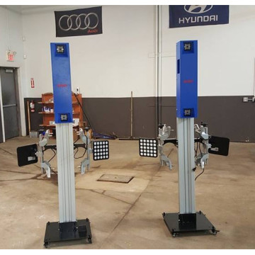 Wheel Alignment for Outdoor Service