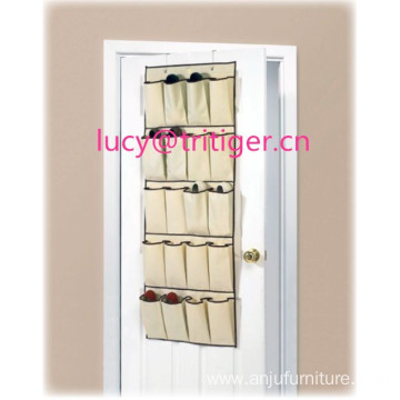 20 Pocket Over Door Hanger Shoe Storage Rack