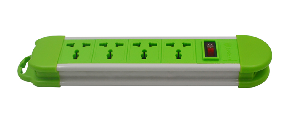 Universal 4 Gang Power Strip