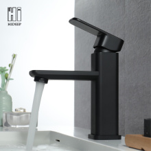 Full Brass Black Under Counter Basin Faucet