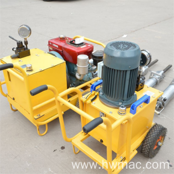 Large hydraulic darda rock splitter