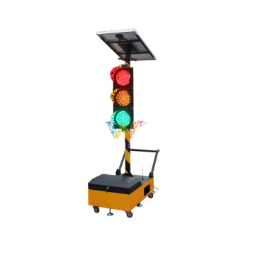 Portable Trolley Remote Control led portable traffic lights