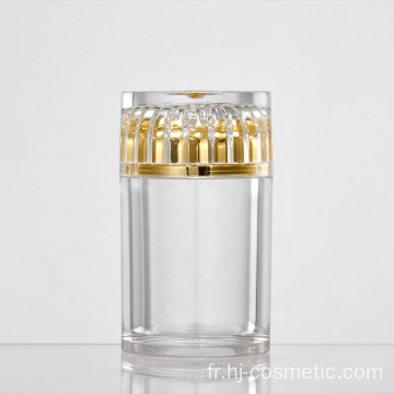 High grade Transparent acrylic cosmetic Bottle/jars with good price