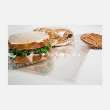 Popular Snack Clear Plastic Packing Poly Bags