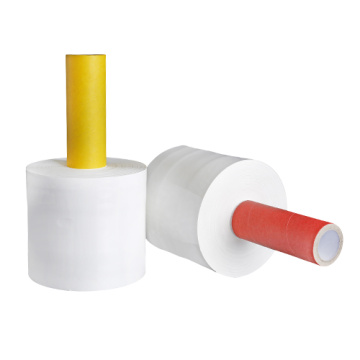 New product Handle stretch film hand wrap roll