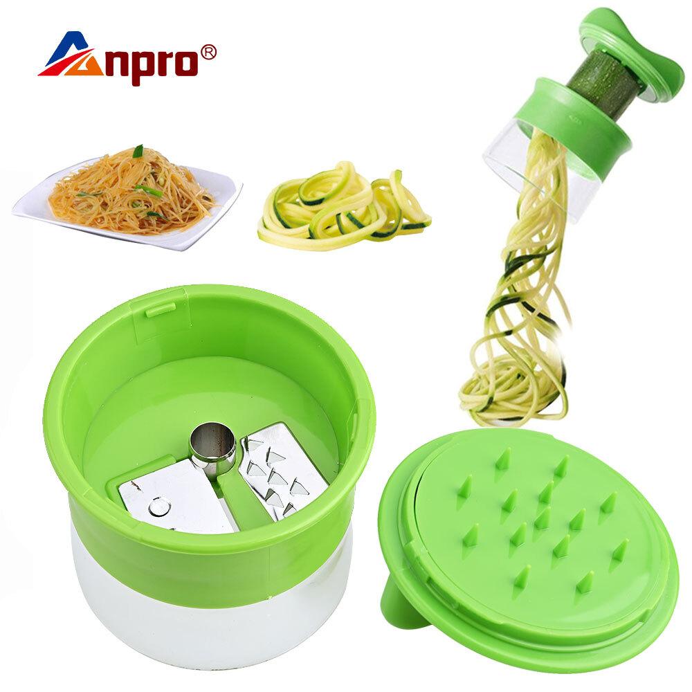 Handheld Carrot Potato Cucumber Spiral Grater Cutter Vegetable Fruit Slicer Salad Noodle Spaghetti Zucchini Blade Spiral Tools