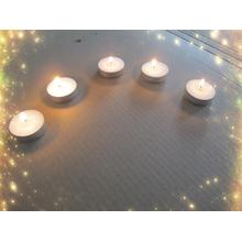 13g Shengjie Candles White Unscented Tea Light Candles
