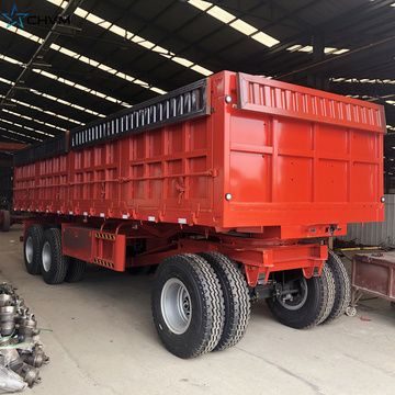Towing Sidewall Full Trailer With Drawbar