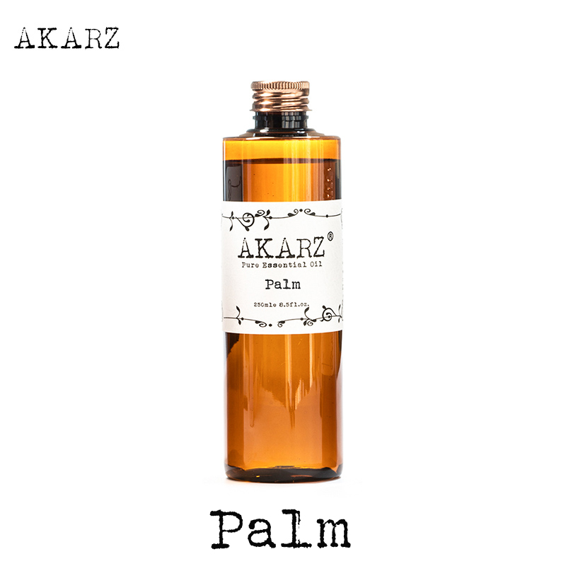 AKARZ Famous brand Palm oil natural aromatherapy high-capacity skin body care massage spa base carrier Palm essential oil