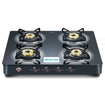 Auto Gas Stove With Plus Schott Glass Top