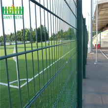 Galvanized welded wire mesh double wire steel fence