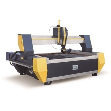 3D water jet cutting machine with 5 axis